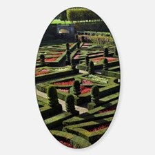 Garden at the Chateau of Villandry  Decal