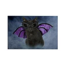 bat_greet Rectangle Magnet