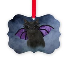 bat_greet Ornament