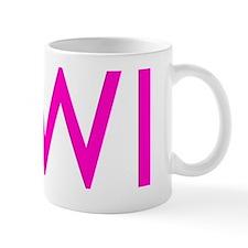 MWI Pink t Mug