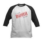Banned Books Kids Baseball Jersey