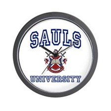 SAULS University Wall Clock