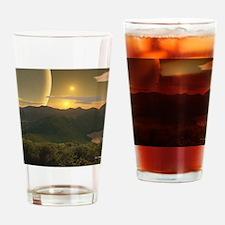 HillsOfMoreanaMousepad Drinking Glass