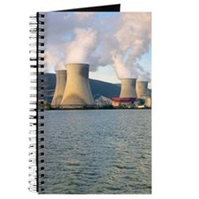 France, Rhone River, nuclear power plant Journal