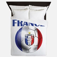 France Soccer Football Queen Duvet