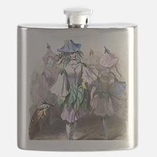 Morning Glory Flask