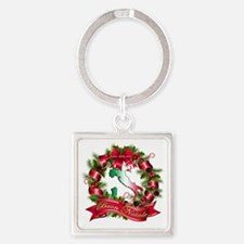 buon natale a Square Keychain