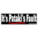 It's Pataki's Fault Bumper Sticker
