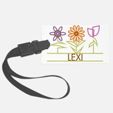 LEXI-cute-flowers Luggage Tag