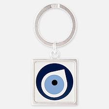 evil eye remover Square Keychain