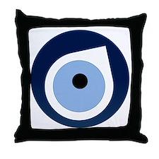 evil eye remover Throw Pillow