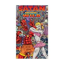 Satan Gone Wild Decal