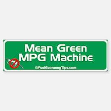Green MPG Bumper Bumper Bumper Sticker