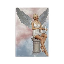 angels_song_greeting_card_192_V_F Rectangle Magnet