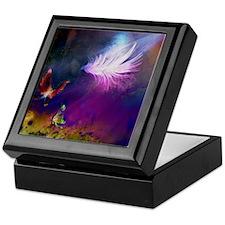 Light_Feather Keepsake Box