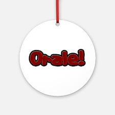 Orale Ornament (Round)