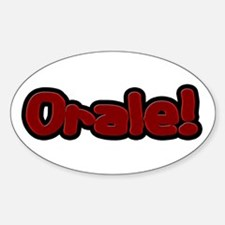 Orale Oval Decal
