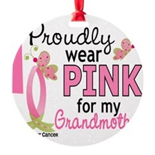 - Pink for My Grandmother Ornament