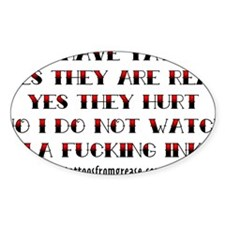 yes i have tattoos Decal