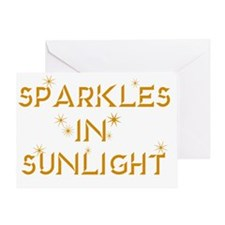 sparkles Greeting Card
