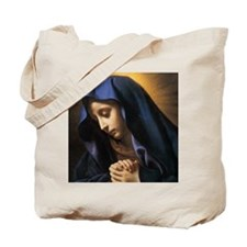 Our Lady Rosary Box Tote Bag