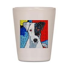 Right On Terrier Shot Glass