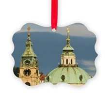 The dome and bell tower of the ba Ornament
