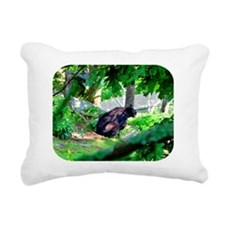 bearmess10 Rectangular Canvas Pillow