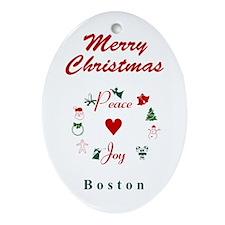 Boston_5x7_Christmas Stocking_PeaceL Oval Ornament