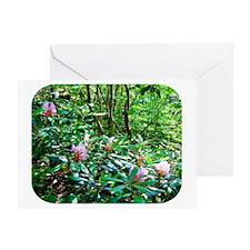 floralmess1 Greeting Card