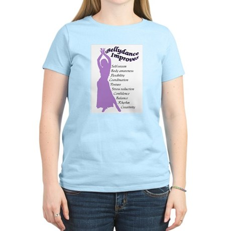 bellydance improves Women's Light T-Shirt