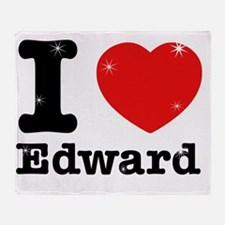 iloveedward Throw Blanket
