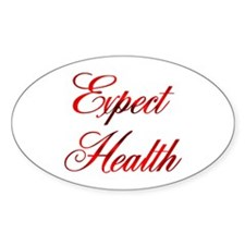 Expect Health Design #46 Oval Decal