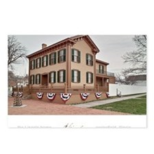 16x20 the lincoln home Postcards (Package of 8)
