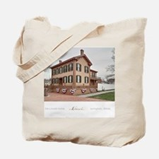 16x20 the lincoln home Tote Bag