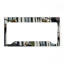 France, Evreux, hotel Normand License Plate Holder