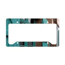 France, Amiens, Old houses in License Plate Holder