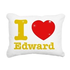iloveedward1 Rectangular Canvas Pillow
