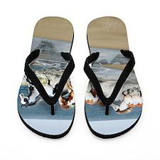 PILLOW_Painted Ocean Flip Flops