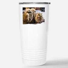 calendar happycat 01 jan Travel Mug