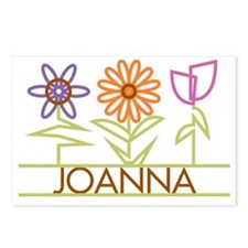 JOANNA-cute-flowers Postcards (Package of 8)