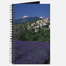 Hilltop village Provence, Aurel Lavender f Journal