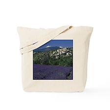 Hilltop village Provence, Aurel Lavender  Tote Bag