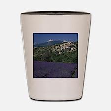 Hilltop village Provence, Aurel Lavende Shot Glass