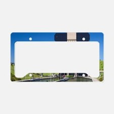 A view of the Strepy-Thieu bo License Plate Holder