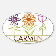 CARMEN-cute-flowers Decal