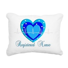 Registered Nurse BLUE HE Rectangular Canvas Pillow