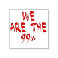"""we are 99 paint Square Sticker 3"""" x 3"""""""