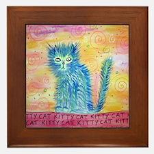 kittycat Framed Tile