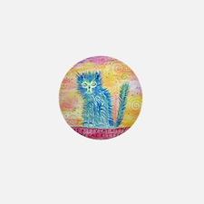 kittycat Mini Button